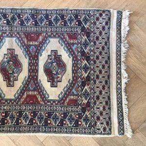 vintage tapijtje zijde katoen Iran