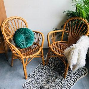 Rotan stoelen ibiza boho bohemian wonen