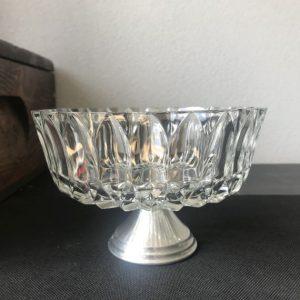 vintage bonbonnière kristal