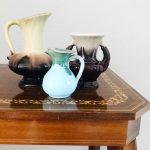 vintage kannetjes keramiek glazuur