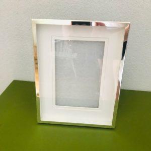silverplated fotolijst voor 1 foto