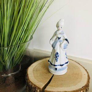 vintage delftsblauw dametje