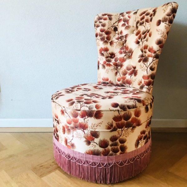 boudoir stoel fauteuil seventies