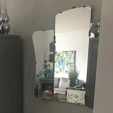 retro kappersspiegel kaptafel spiegel