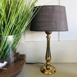 vintage messing lampenvoet goud gouden