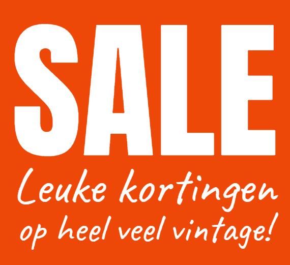 Sale vintage woonaccessoires meubels opruiming aanbieding