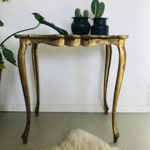 barok bijzettafeltje kunststof italie groot