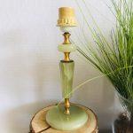 Marmeren lampenvoet groen