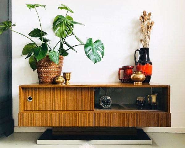 Design Tv Meubel Kast.Vintage Retro Tv Meubel Kast Deens Design Sideboard Woodstock Design