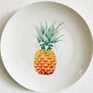 Wonderwall sierbord ananas wit