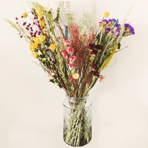 droogbloemen boeket Kleurrijk