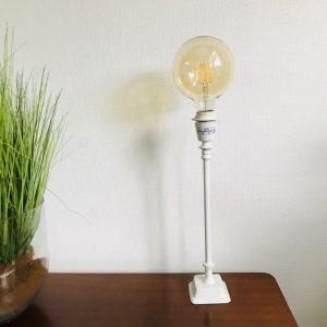 lampenvoet wit light en living metaal landelijk