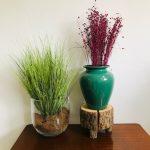 vintage vaas keramiek turquoise