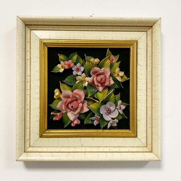 Boho kitsch bloemenschilderij 3D